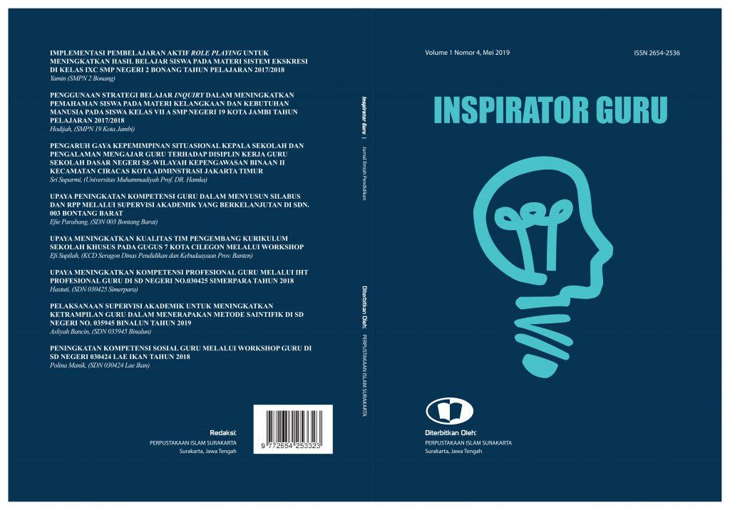 jurnal nasional inspirator guru